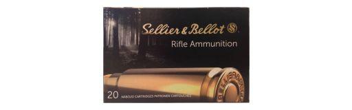 cartouches à balle Sellier & Bellot 8x57 JS SPCE 196 gr