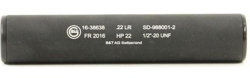 silencieux 22LR Brugger et Thomet HP22