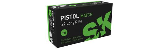 cartouches à balle 22LR SK Pistol Match