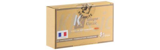 cartouches à balle Sologne Klassic 7x64 Subsonique 139gr