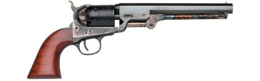 revolver poudre noire Uberti 1851 Navy London Bronzé