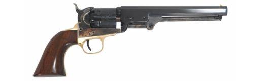 revolver poudre noire Uberti 1851 Navy Oval Trigger Guard Bronzé