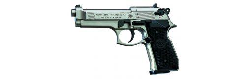 pistolet CO2 Umarex Beretta M92FS nickelé
