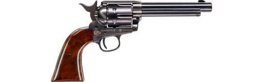 Revolver CO2 Colt Single Action Army 45 finition bleutée