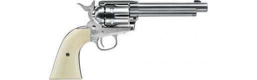 revolver CO2 Colt Single Action Army 45 Nickelé