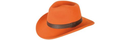 chapeau Verney-Carron Woolchap orange