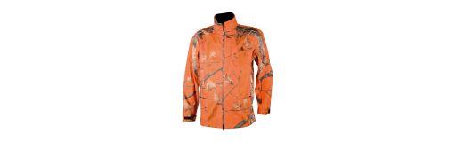 veste de chasse Somlys 431 camouflage orange