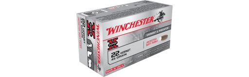 cartouches à balle Winchester 22 Hornet Hollow Point