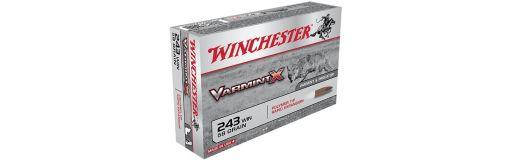 Cartouche à balle Winchester 243 Win Varmint-X
