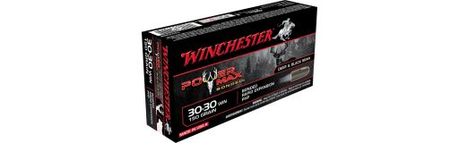 Cartouche à balle Winchester 30-30 Power Max bonded
