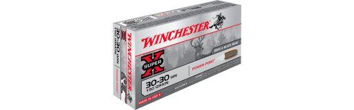 cartouche à balle Winchester 30-30 Win Power Point 150 gr
