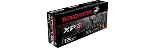cartouches à balle Winchester 300WSM XP3 180 gr