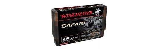 cartouches à balle Winchester 458WM Nosler Partition