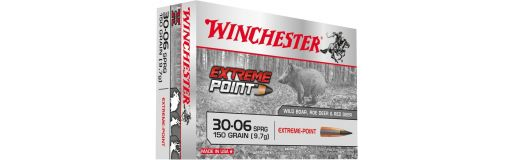 cartouches à balle Winchester 7RM Extreme Point