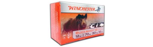 cartouches chevrotine Winchester Buckshot calibre 12