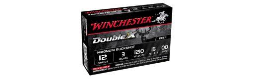 cartouche chevrotine Winchester Double-X Magnum Buckshot 12