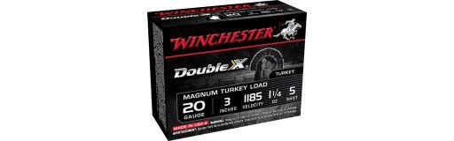 Cartouches à plomb Winchester Double X 20 Magnum Turkey