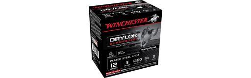 Cartouches à billes acier Winchester Drylok Super Steel Cal. 12/76