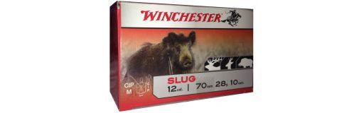 cartouches à balle Winchester Slug Cal. 12 Foster