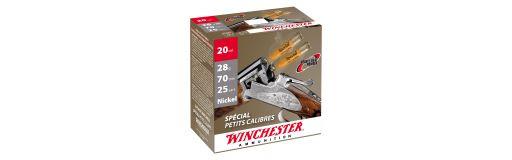 cartouches à plomb nickelé Winchester Spécial Petits Calibres 28 g