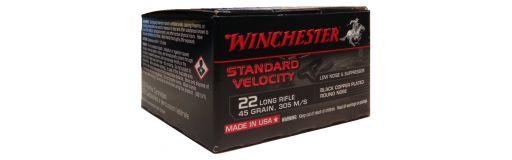 cartouches à balle 22LR Winchester Standard Velocity