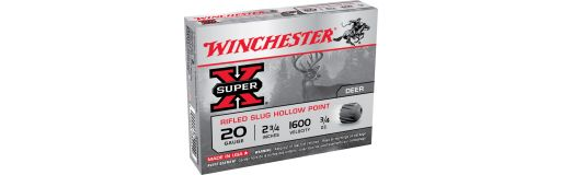 cartouches à balle Winchester Super X Cal. 20