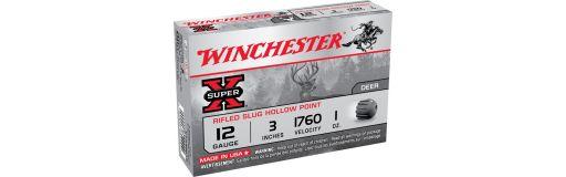 cartouches à balle Winchester Super X Cal. 12Mag
