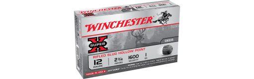 cartouche à balle Winchester Super X Slug Hollow Point Cal. 12