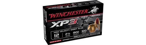 cartouche de chasse Winchester XP3 Slug 12/70