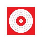 cible de tir carton 14x14