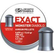 plombs 4,5 mm JSB Excact Monster Diabolo