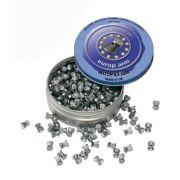 Plombs air comprimé Europarm tête plate 4-5 mm