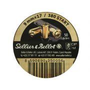 cartouche à blanc 9mm pour revolver d'alarme Sellier & Bellot