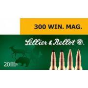 cartouches à balle Sellier & Bellot 300 WM SPCE 180 gr