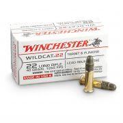 cartouches à balle Winchester 22LR Wildcat