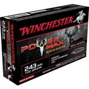 243 Winchester Power Max Bonded 100 gr
