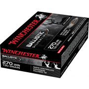 Winchester 270 Win Ballistic Silvertip 130 gr