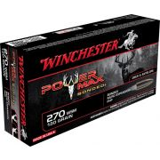 Cartouche à balle Winchester 270 WSM Power Max Bonded 130 gr